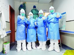 中山二院4位医生进入武汉病区工作